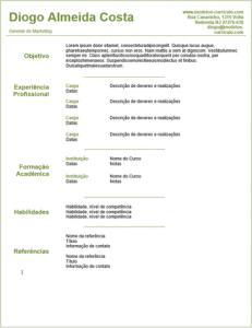 Profissional Limpo 231x300 - Um Exemplo De Currículo Para Adolescentes + Dicas De Como Escrever Seu Primeiro Currículo